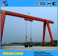 Quality industry MH type single girder 10 ton gantry crane price with ISO, CE