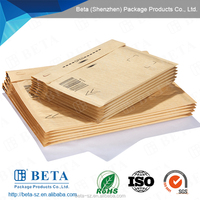 Electronic Products Packing Printed Brown Kraft Paper Bag