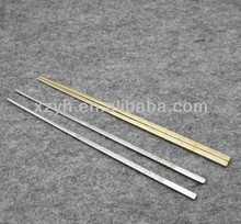 plated gold stainless steel chopsticks