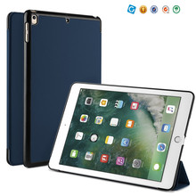 Guangzhou Supplier Leather Stand tablet For iPad 10.5 Slim Flip Hard Case Cover