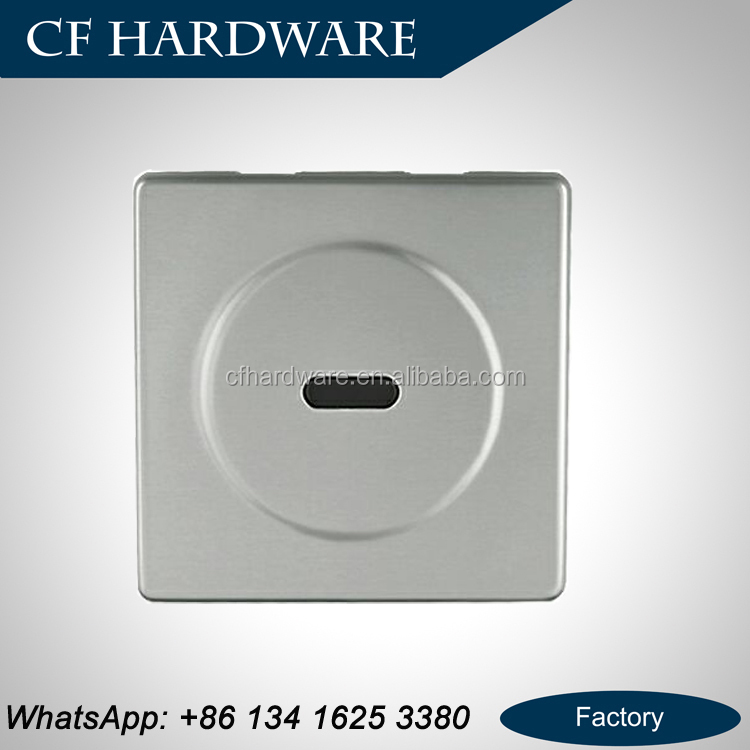 Stainless steel concealed electronic toilet flusher automatic sensor urinal flush valve