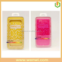 High clear plastic cell phone case packaging,plastic packaging box for cell phone case