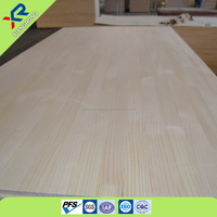 furniture solid board Radiata pine integrated timber plate figured wood manufacturer in china