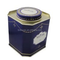Customized unique gift packaging special shape tins