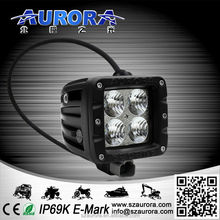 Aurora hot-selling high quality IP69K E-Mark ISO9001 2 inch flood 20w bright led light