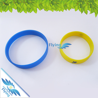 Custom Made Men Festival Recycled Rubber Silicone Wristband
