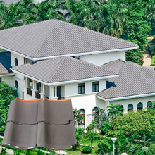 J1 305X305mm european style natural rectangle ceramic roof tile