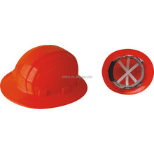 high quality Industrial full brim hard hat ANSI round safety helmet