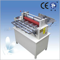 Preprinted label cutting machine