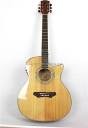 Best sound solid wood guitar acoustic electric guitar G-Q41B