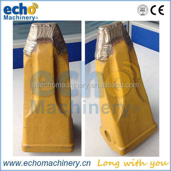 high quality good wear resistance rock excavator bucket teeth/tooth with carbide tipped