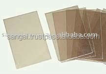 Transparent mica sheet for window of stoves