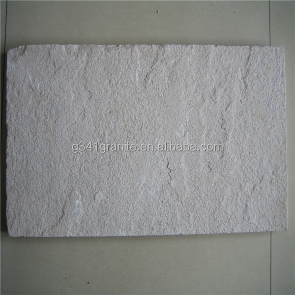 factory price natural stone snowflake white sandstone tiles