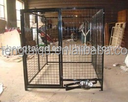 All Welded - Powder Coated Finish, Completely Portable Dog Cages Kennels