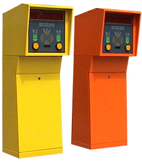 ticket dispenser for parking system