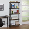 Simple Living 5-tier Wood and Metal Bookshelf