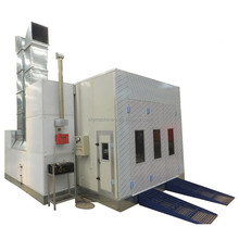 CE approved auto spray painting booth, spray tan booth, car paint infrared heat lamp