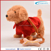realistic plush toy dog electronic toy dog sensor dog toy