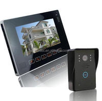 Multi apartment touch screen battery operated wireless install video door phone TEC706VJW11