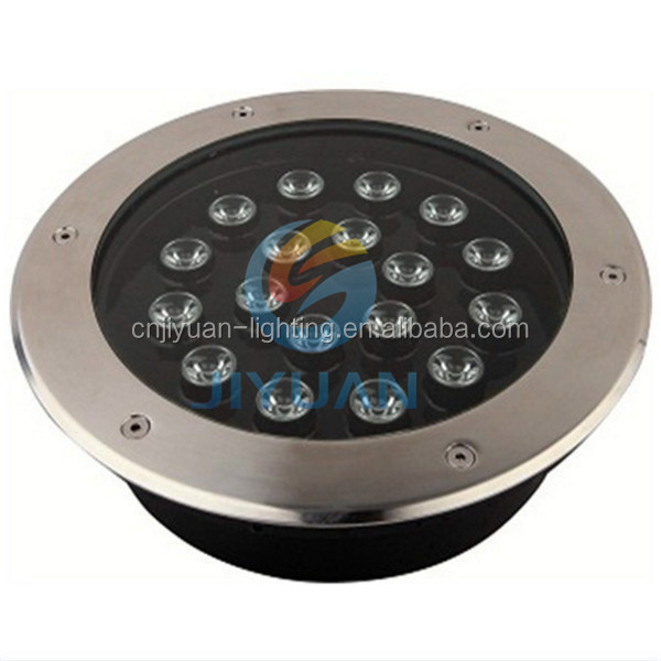 1*3w led recessed RGB ground light IP67 waterproof VST Electrical 3years warranty