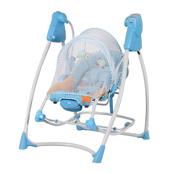 Baby swing with music and automatic functions