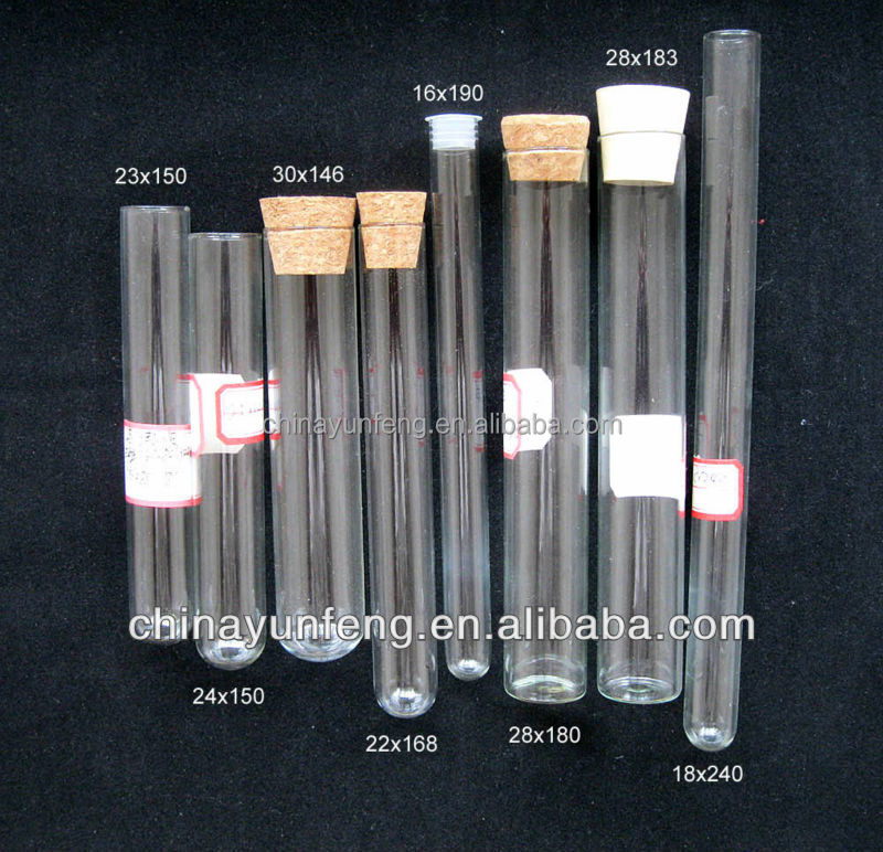 Wholesale Glass test Tube With Wood Cork for Cigar