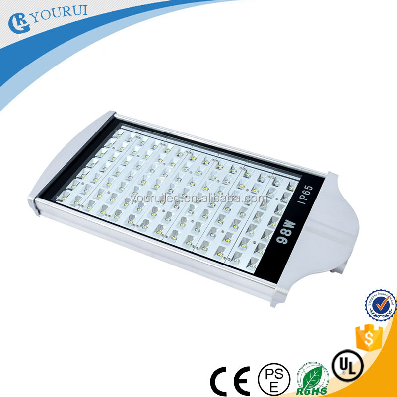 98w cool white high lumen factory price IP65 led street light