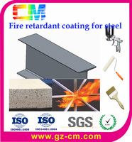 water based powder high- build fire retardant coating for steel structure - fire resistant time 2 hours
