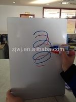 China whiteboard without frame board Non-Magnetic melamine mdf White drawing school board
