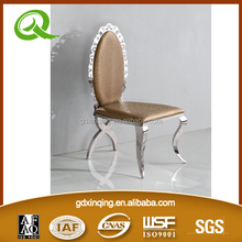 wholesale wedding and flower stainless steel frame event chairs