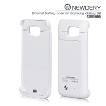 wireless battery case for Samsung S6 active power case with holder kid stand rechargeable cell phone case