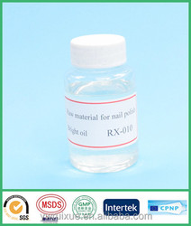 RX-010 new developig liquid oil based raw material for nail polish with factory outlet material