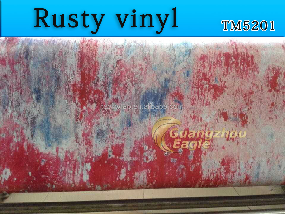 Rust Effect Protective Design of Car Sticker Vinyl Rolls Wholesale In Good Price