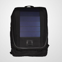 Compact design Waterproof and lightweight Solar Backpack with built-in battery