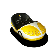Fiberglass body anpaman mini ufo bumper car for kids