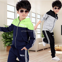 2016 spring autumn kids boys clothes sets children casual 2 pcs suit jackets hoodies+pants baby sport suit outwear 4-12 years