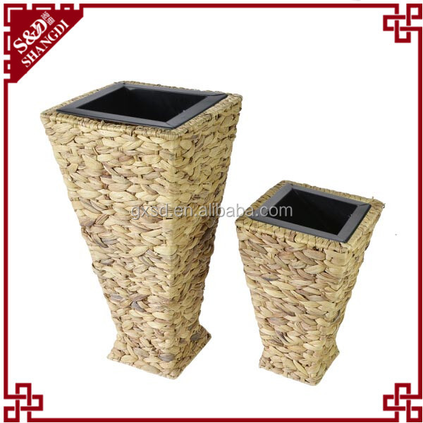 SD modern cubic large chinese garden pots