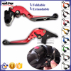 BJ-LS-001-F25/H250 For CBR250 300 CNC Folding Extendable Clutch Brake Levers Motorcycle Lever