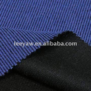 durable fabric, made of 43% acrylic, 18% wool and 39% poly materials
