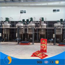 High yield tomato seeds tomato peeling machine tomato sauce filling machine