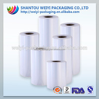 Customized transparent food packing stretch film with high stretch