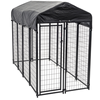 Large outdoor folding new fashionable high quality eco-friendly and stocked galvanized beautiful dog cages/kennels/pet houses