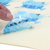 Waterproof PVC Sticker Glossy Customized Clear Plastic Labels