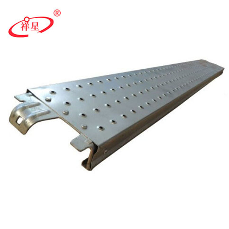 China supplier ringlock scaffolding mental HDG steel plank with hook