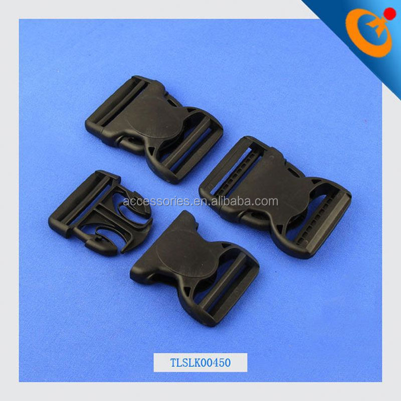 side release metal hook buckle quick connect buckle colored plastic side release buckle