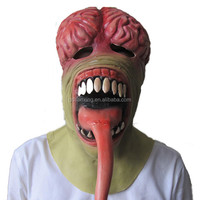 TX Latest Design Full Face Horror Creep fancy dress Animal Latex Halloween mask