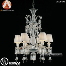 6 Lamp Baccarat Crystal Chandelier