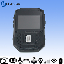 Super HD Weatherproof Wearable DVR With GPS Tracking Body Worn Video Cam, Wearable Video Camera