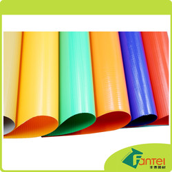 450gsm 500D*500D 9*9 flex banner flame retardant materials