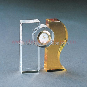 Wholesale Crystal Clock for Anniversary